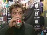 Robert Pattinson talks with Marcus Le shock