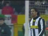 Juventus - Siena 1 - 0 Del Piero su Punizione Serie A 09/09