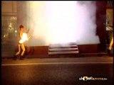 spectacle de feu et flammes fire show
