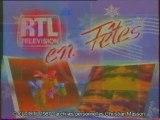 1987 RTL Télévision - 2 jingles pub fêtes