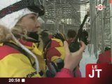 Val d'Isère 2009 : Exercice avant les championnats du monde