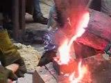 Fonderie - Coulée Bronze