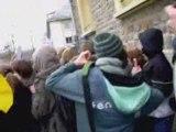 Sarko à st-lo violences policieres sur les lycéens et profs