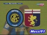 ADRIANO 1-0 INTER MILAN - GENOA COUPE D'ITALIE
