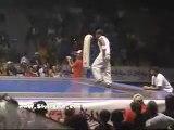 Acrobacias yamakasi gimnasia artistica marciales parkour