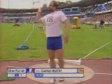 Athlé Europe 2006 Gaetan Bucki qualif lancer poids