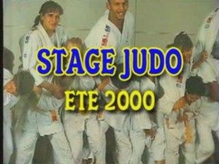 Stage de Judo à Etaples (62) en août 2000