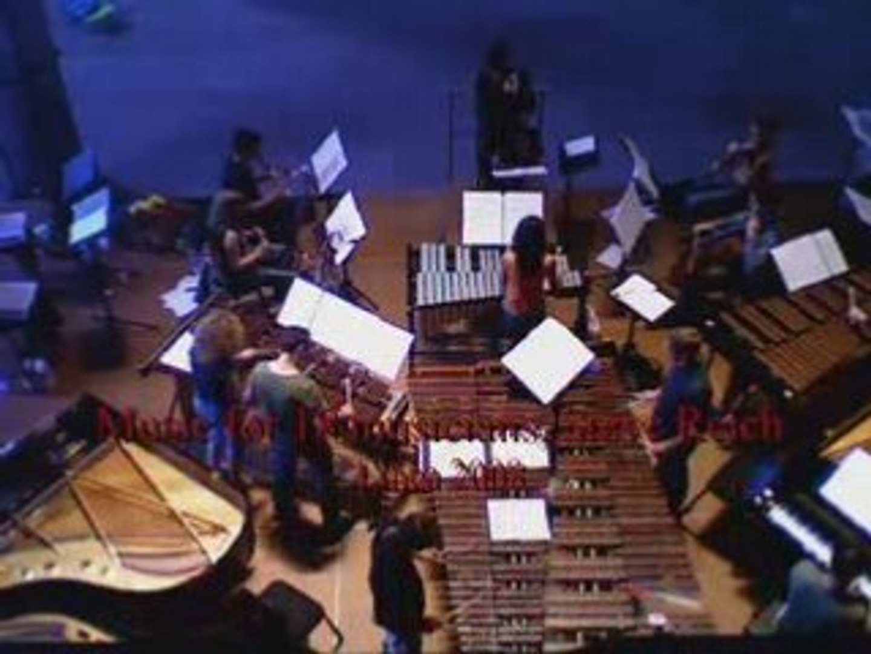 Music for 18 musicians, Steve Reich