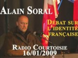 Alain Soral et l'identité française Radio Courtoisie Part 2