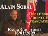 Alain Soral et l'identité française Radio Courtoisie Part 3