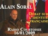 Alain Soral et l'identité française Radio Courtoisie Part 4