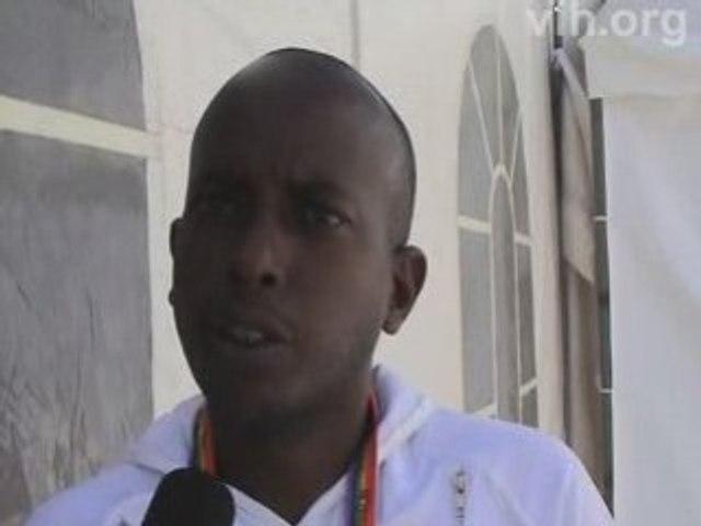 Vih.org : George Kanuma à l'ICASA 2008