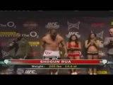 UFC 93 peser  à  Dublin Ireland ( Main Card)