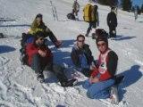 Vol a ski des Saisies 2009