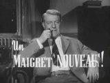 TRAILER 1958 MAIGRET TEND UN PIEGE GABIN AUDIARD ANNONCE HQ