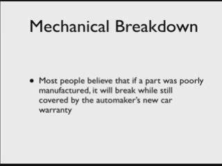 Automotive Extended Warranty