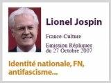 Jospin - Le FN n'est pas un parti Fasciste