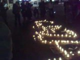 halte au massacre GAZA (Le mans-16-01-2009 (france))