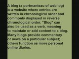 blogging -- 500+ online marketing tools and methods