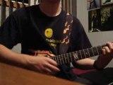 """""""King Of Kings"""" (2ème thème HHH) joué par moi à la guitare"""