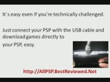 How To Download Games To PSP - Put Games On PSP -100% Works!