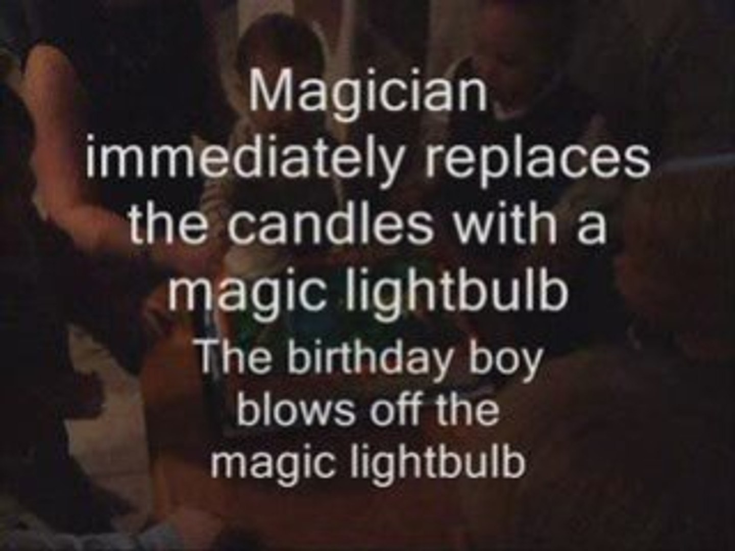 A Vancouver magician saves the birthday party cake