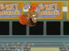 Basket Dunk, dessin animé