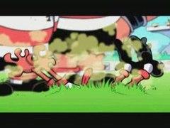 Les Rugbymen, dessin animé