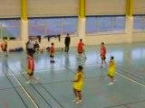 Match benjamins basket ball hamois contre USBA