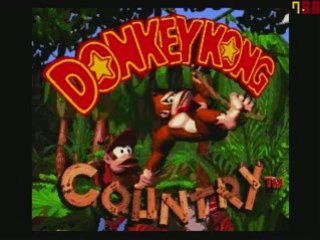 Donkey Kong Country sur snes ( gameplay