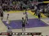 NBA Pau Gasol with a wonderful pass to Lamar Odom