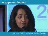 Voeux d'Europe Ecologie - sur la diversité des candidatures