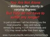 """Secret"" Hemorrhoid Cure - Cure Hemorrhoids in 48 Hours"