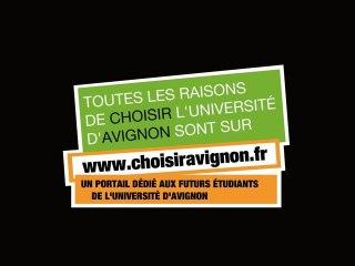 Choisir Avignon pour son Université (1)