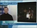 Bloc identitaire Aquitaine sur TV7