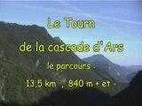 Parcours du Tourn de la cascade d'Ars - Aulus les Bains