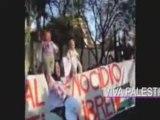 Mexique 2009 - Protestations devant l'ambassade d'islael