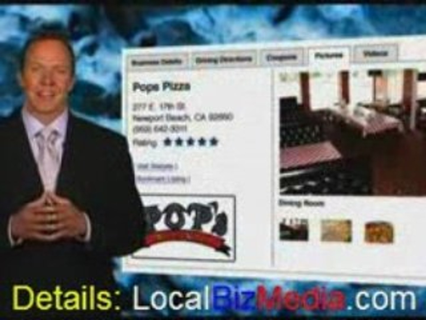 Advertising Media for Local Merchants based upon Zip Codes