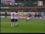 coup franc BECKHAM MILAN AC genoa ( 1-0 )