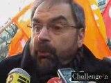 François Chérèque (CFDT) à la manifestation du 29 janvier