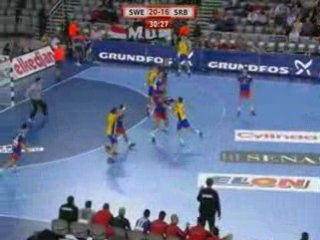 Highlights Sweden Serbia 2009 placement match for 7th place