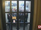 Incidents devant le Palais universitaire à Strasbourg 2