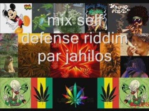Mix self defense riddim par jahilos