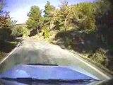 Essai Caméra Embarquée - 205 Rallye (cam sur le toit)