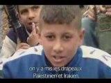Attentats suicides temoignages d'enfants palestiniens