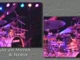 JoJo Mayer Live Drumming Concert Clip 1 - Drums n Bass