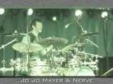 JoJo Mayer Solo Live Drumming Concert Clip 4 - Drums n Bass