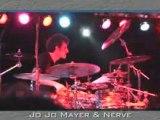 JoJo Mayer Solo Live Drumming Concert Clip 5 - Drums n Bass