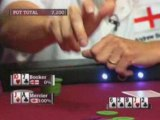 World Cup Of Poker Isabelle Mercier slow plays Booker