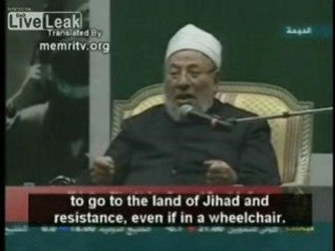 Al-Qaradawi- القرضاوي: الله سلط هتلر على اليهود لكي يأدبهم